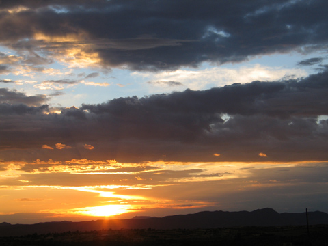 July Sunset - Las Cruces