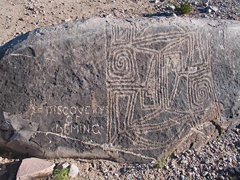 Petroglyph plus Deming