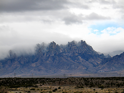 Organ Mountains 11/29/09