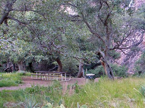 Van Patton Mining Camp - Picnic Area