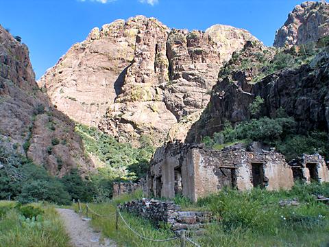 Van Patton Mining Camp - Dripping Springs