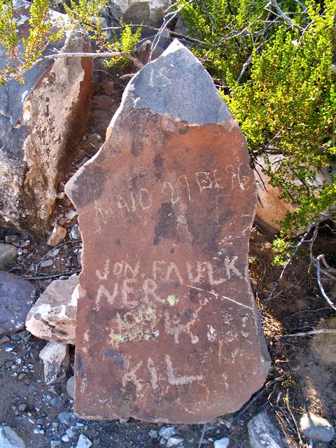 Jon (John) Faulkner Gravestone